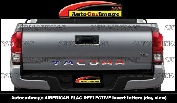 American Flag Reflective Letters For Toyota Tacoma 2016 17