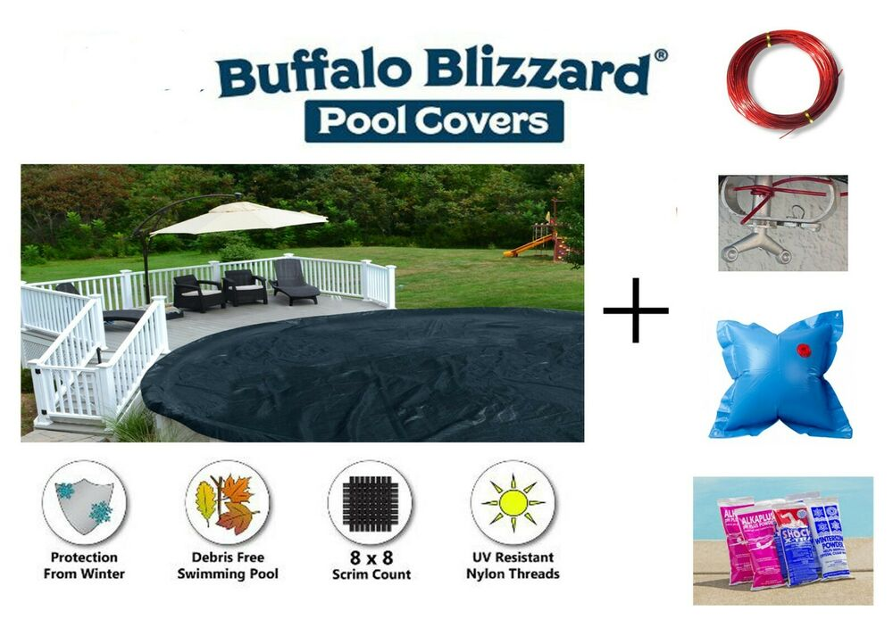 Above Ground Deluxe Swimming Pool Winter Cover W Air