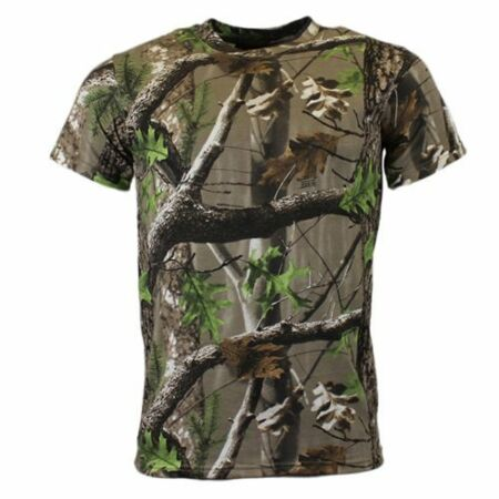 img-Mens Unisex Military Outdoor TRECK Camouflage Fishing Hunting Shooting T-shirt