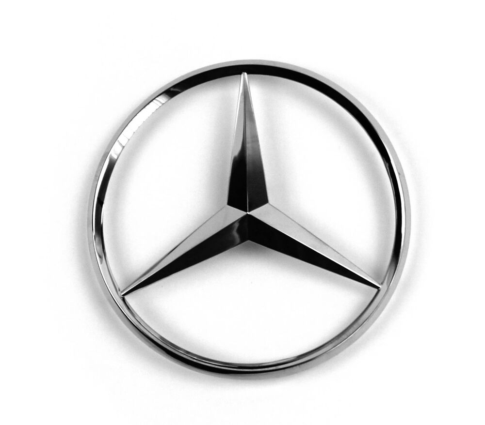 mercedes benz stern emblem heck heckklappe w221 s w168. Black Bedroom Furniture Sets. Home Design Ideas