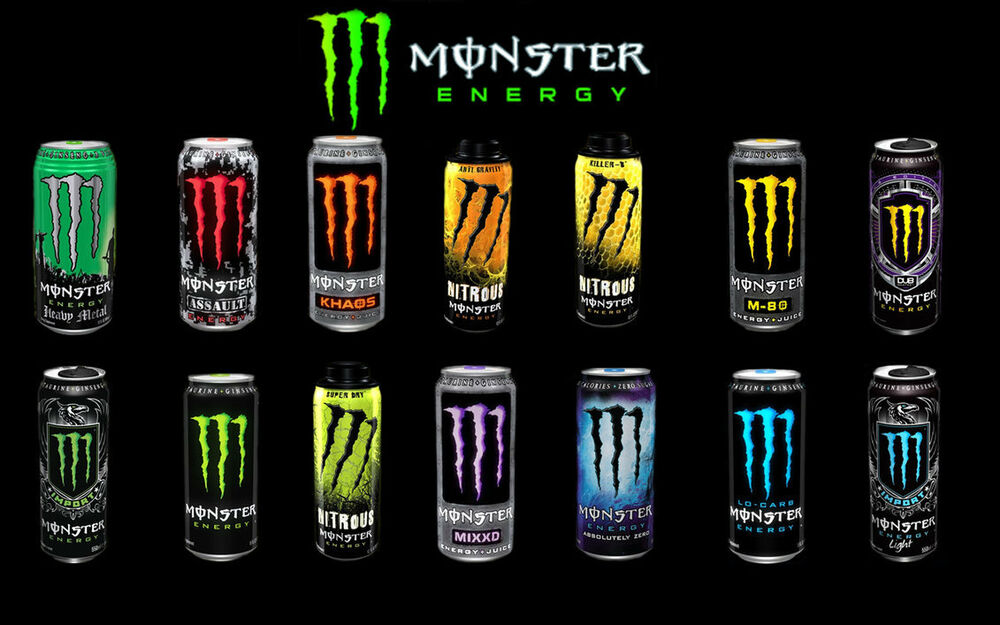 Image result for monster energy drink specifications