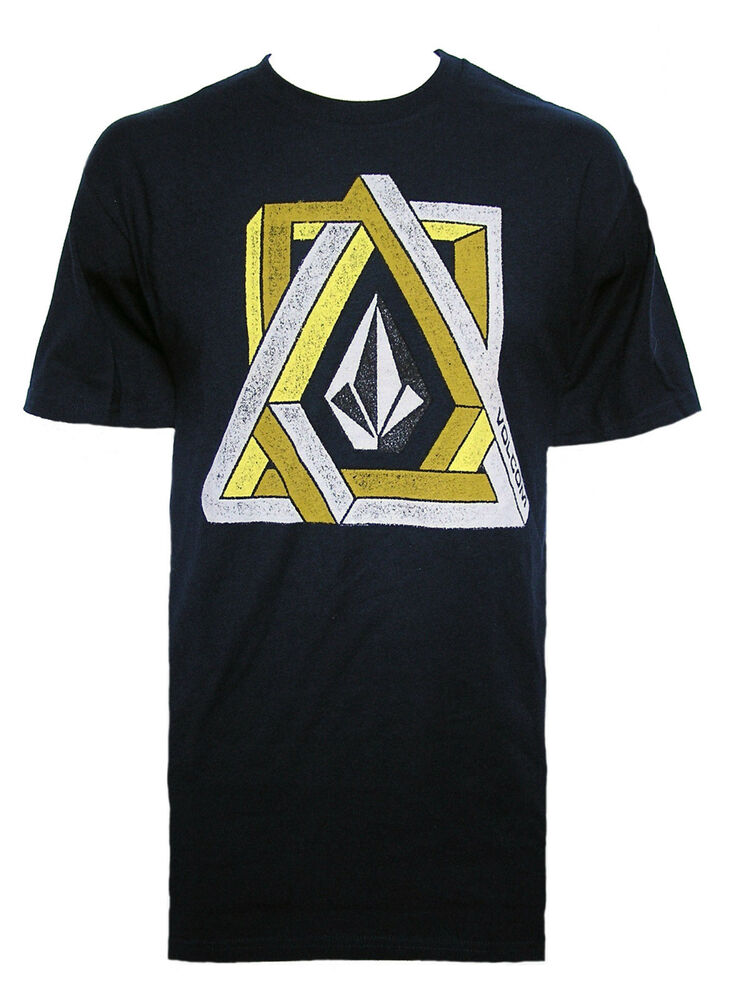c1231ce8 Details about BRAND NEW VOLCOM MENS GUYS GRAPHIC T SHIRT TOP REGULAR FIT  CREW TEE BLOUSE SZ M
