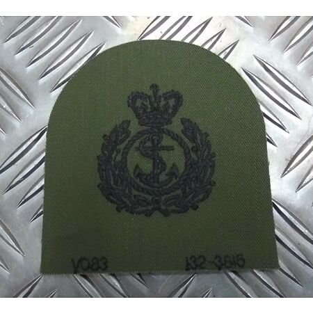 img-Genuine British Royal Navy RN Chief Petty Officer (CPO) OD Subdued Patch EPB48