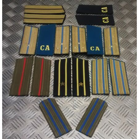 img-Genuine Russian Forces Shoulder Boards / Slides / Epaulettes Various styles