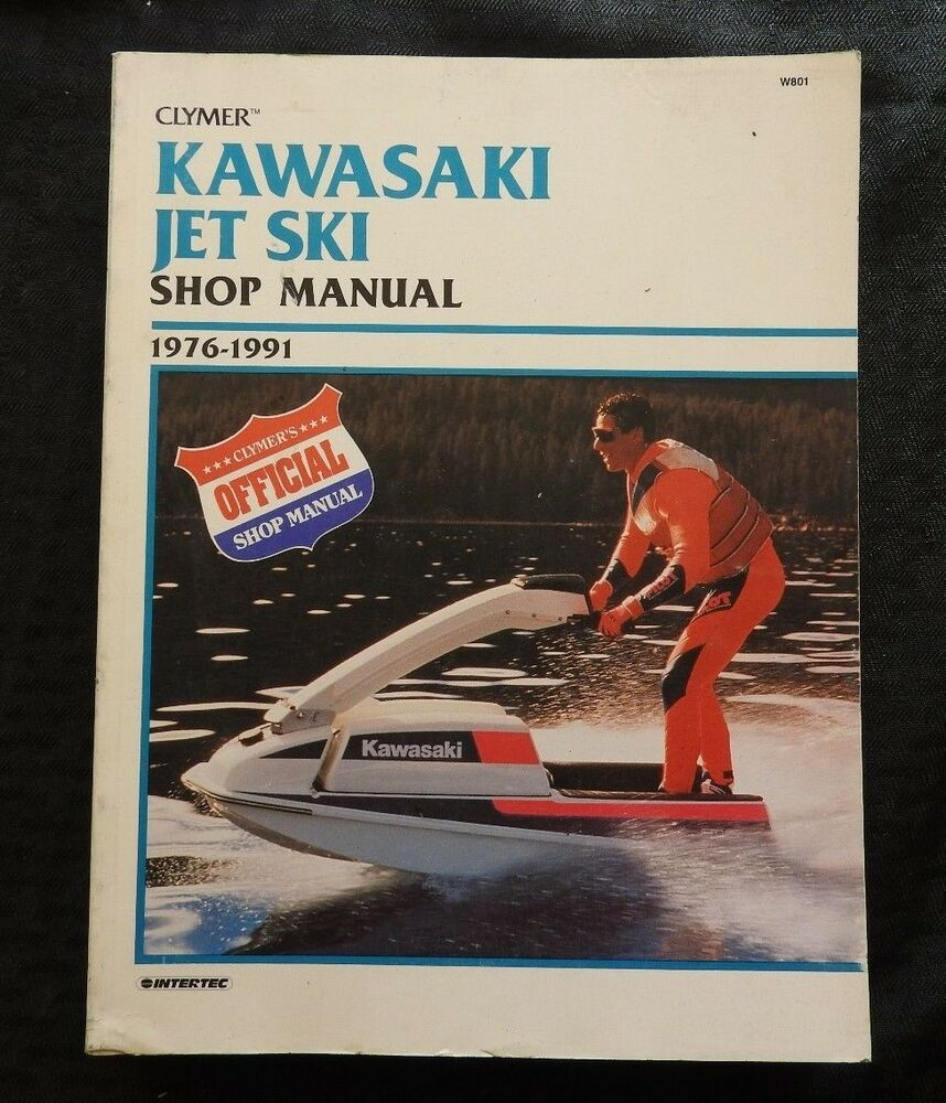 1976-91 KAWASAKI 300 400 440 550 650 JET SKI WATERCRAFT SERVICE MANUAL VERY  GOOD | eBay