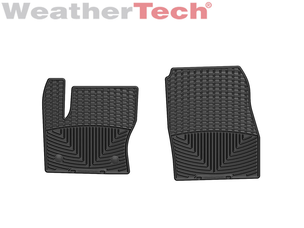 Details About Weathertech All Weather Floor Mats For Ford Escape C Max 1st Row Black