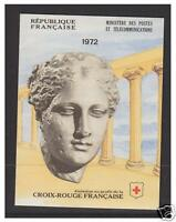 France - 1972 Red Cross Booklet (contains 4 x sets) - MNH - SG 1979/80 (XSB22)