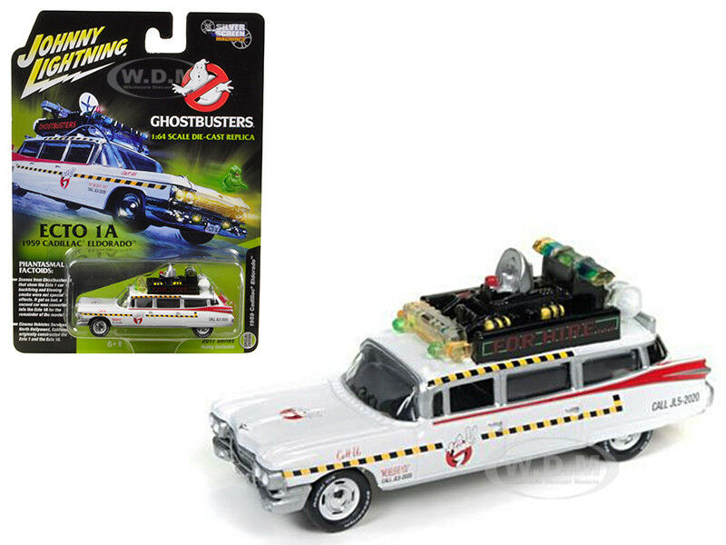 ghostbusters ecto 1a movie 1 64 diecast model car by. Black Bedroom Furniture Sets. Home Design Ideas