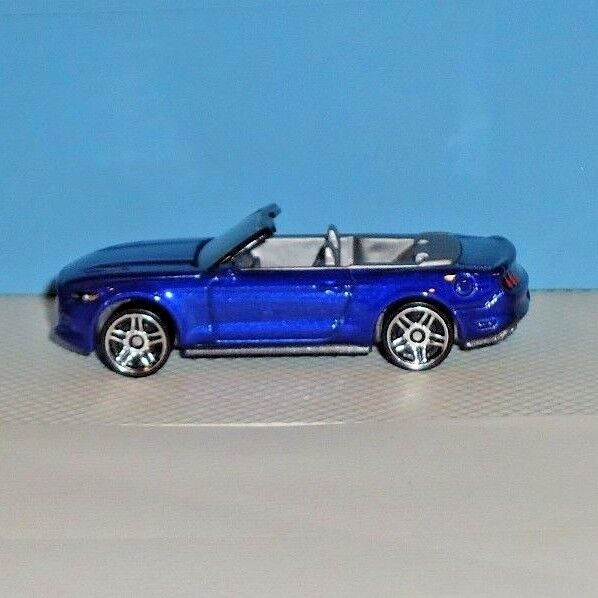 Details About 2017 Hot Wheels Factory Fresh 104 15 Ford Mustang Gt Convertible Blue Loose