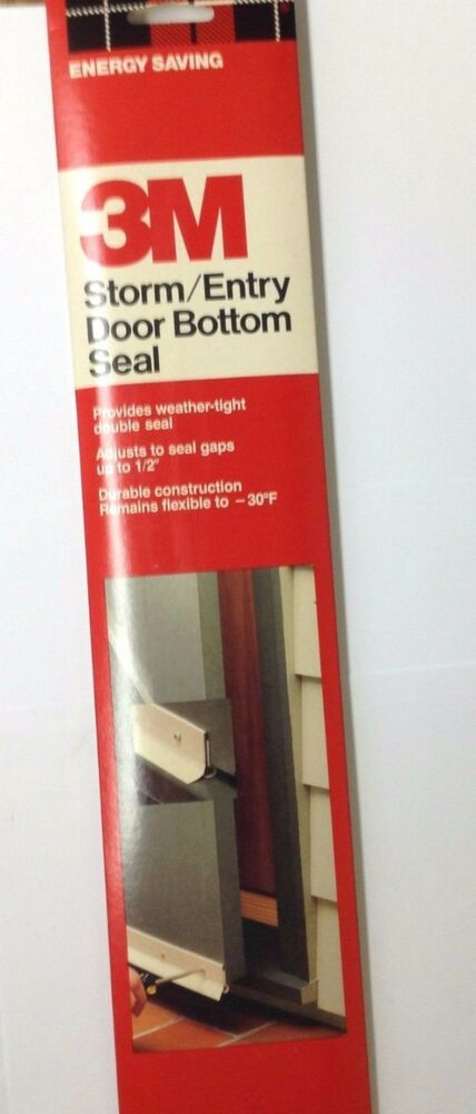 3m Screen Storm And Entry Door Bottom Weatherstrip Seal