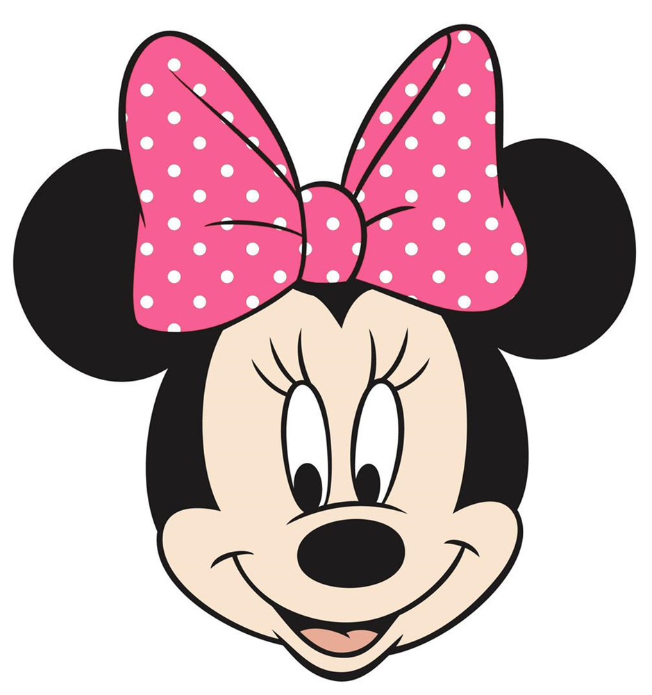"""Minnie Mouse Head Iron On Transfer 5""""x5"""" for LIGHT Colored ..."""
