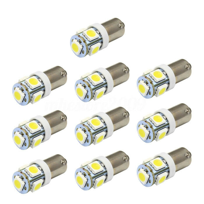10x t11 ba9s t4w 5050 smd 5 led ampoule lampe blanc xenon veilleuse spot voiture ebay. Black Bedroom Furniture Sets. Home Design Ideas
