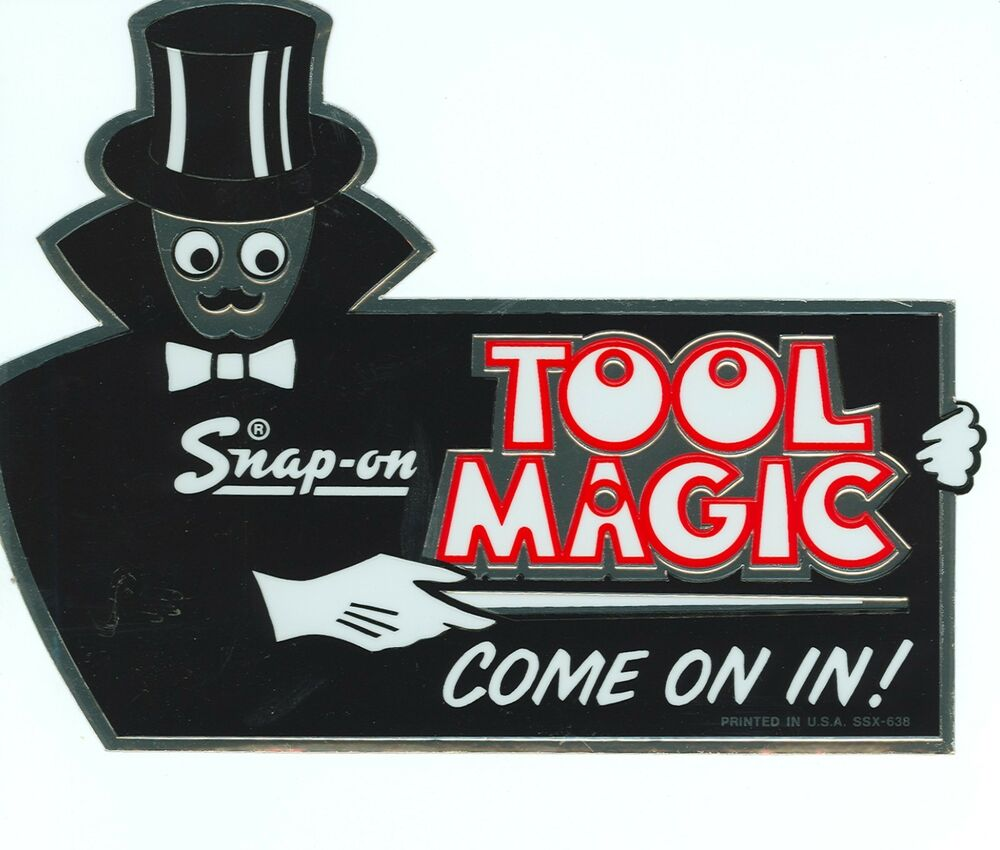 NEW Vintage Snap-on Tools Snap on Tool Box Sticker Decal ...