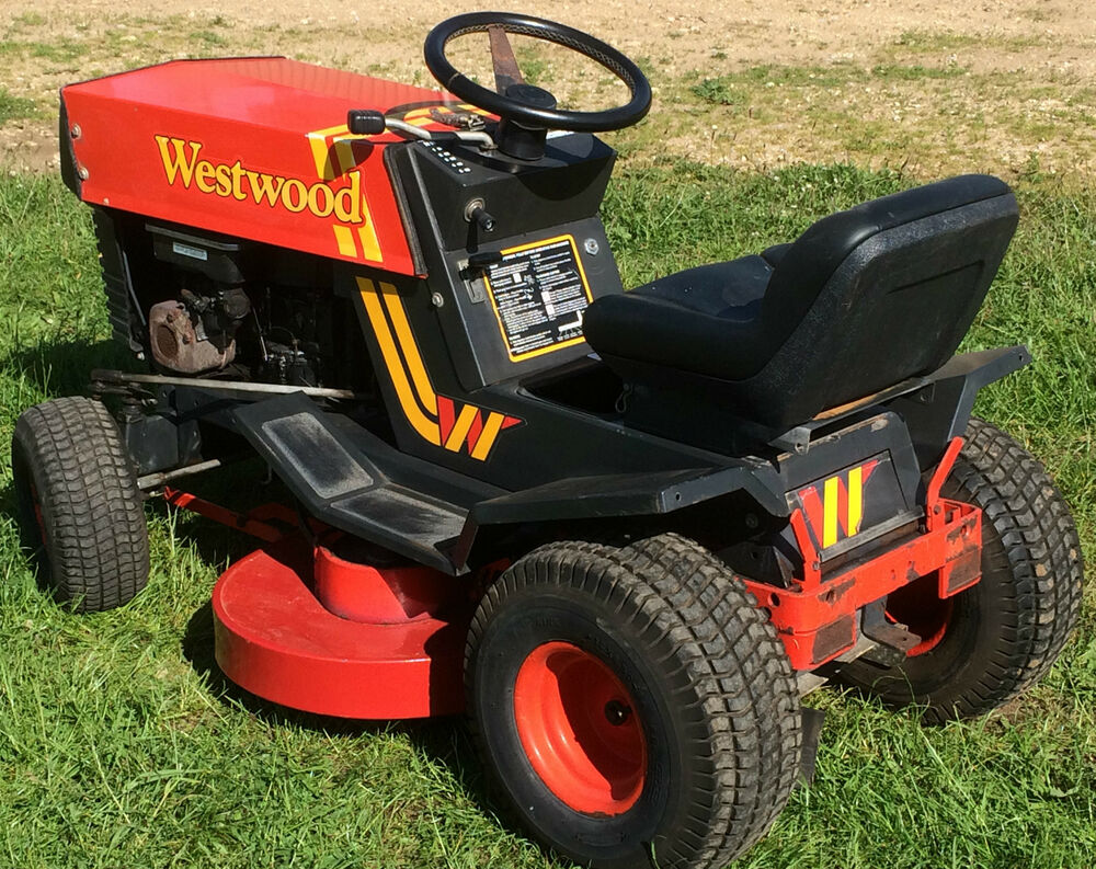 Mtd Tractor 1600 : Westwood tractor two belts  gearbox cutter deck
