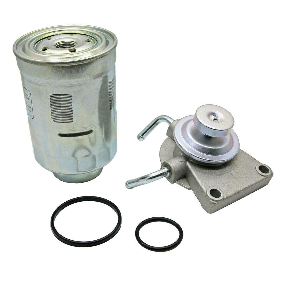 Diesel Fuel Filter Primer Pump  U0026 Filter For Toyota Hilux