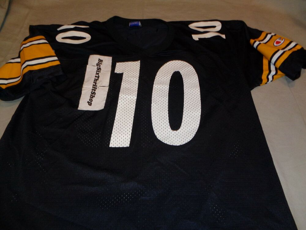 788ffdab298 Champion Pittsburgh Steelers Kordell Stewart 10 NFL Jersey Adult size 40  Medium