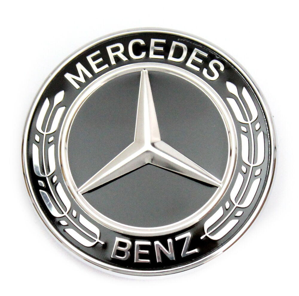mercedes benz stern emblem schwarz motorhaube w463 w461. Black Bedroom Furniture Sets. Home Design Ideas