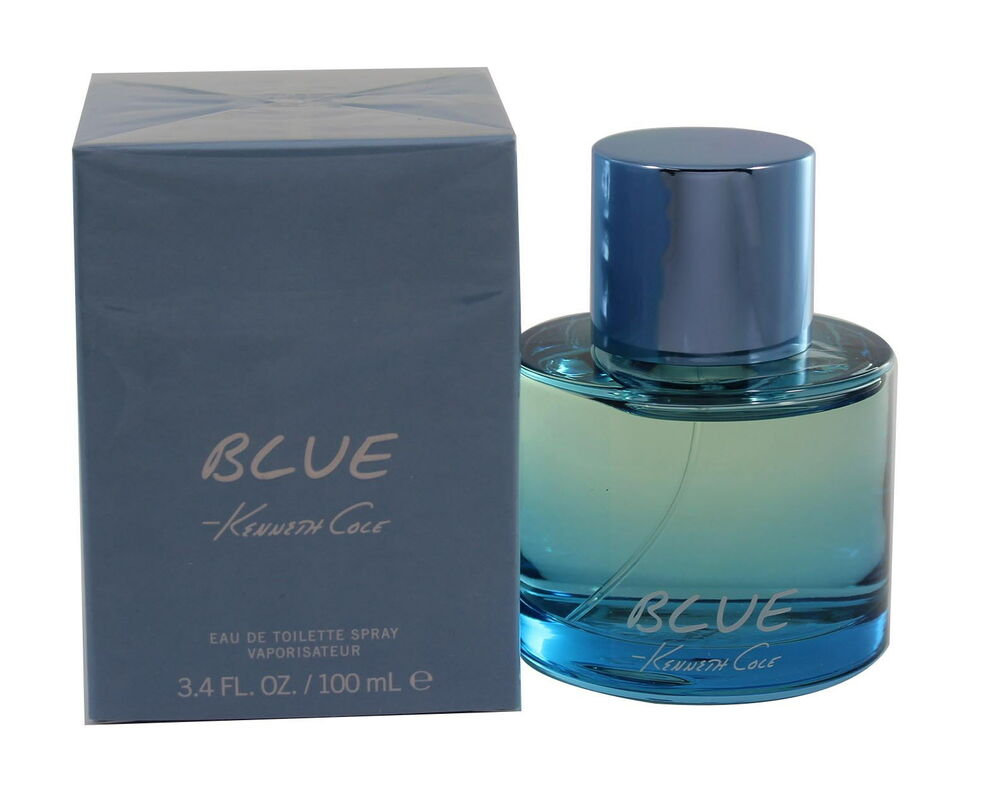 Blue By Kenneth Cole 3433 Oz Edt Spray For Men New In Box