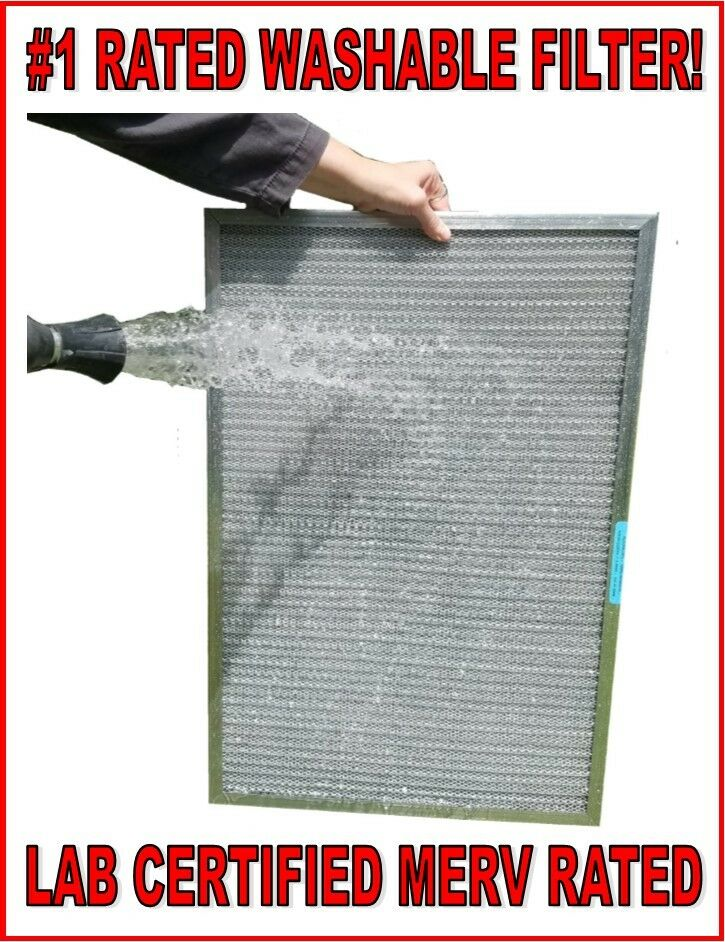 1 rated washable permanent electrostatic furnace ac air filter - lab ...