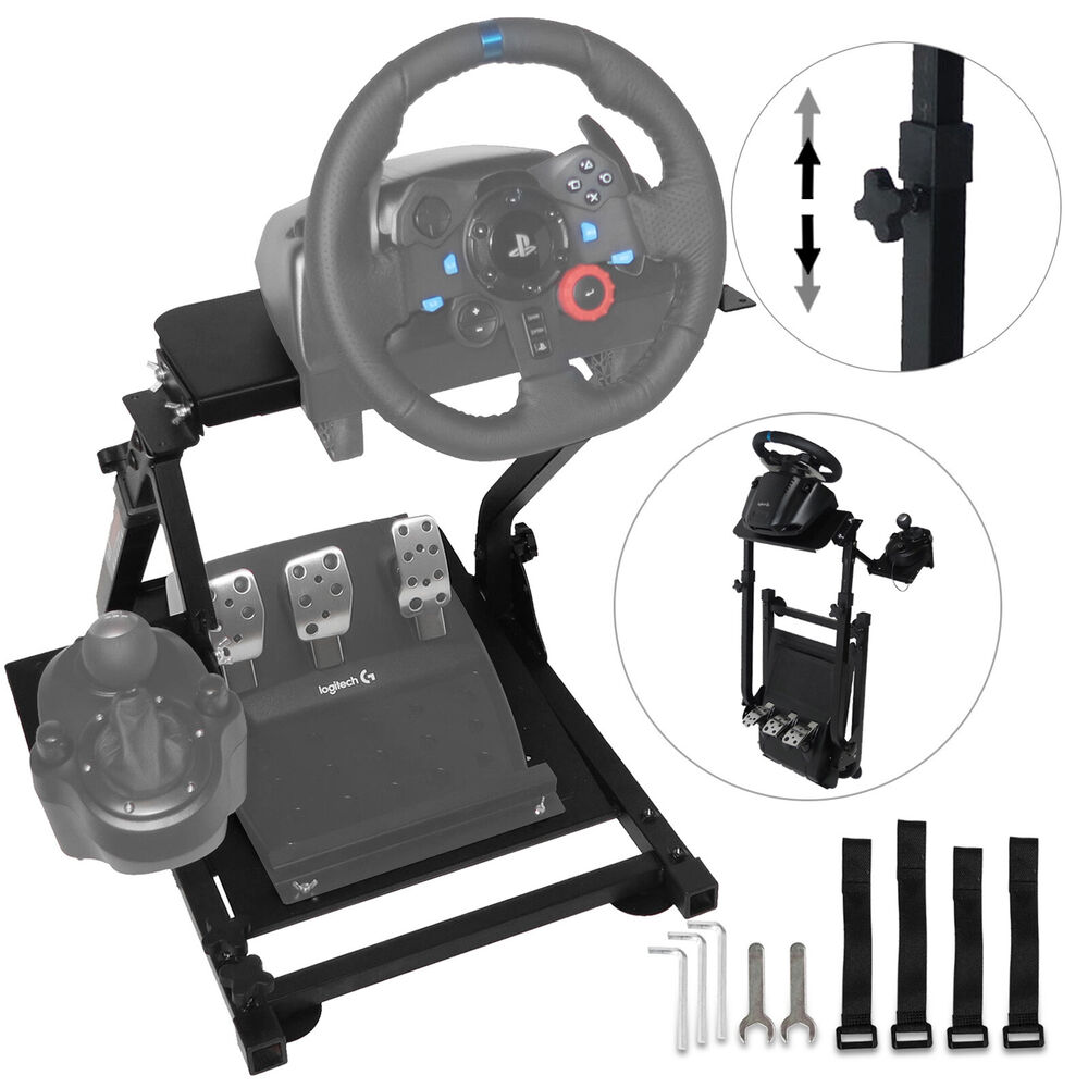 racing simulator steering wheel stand logitech g29. Black Bedroom Furniture Sets. Home Design Ideas