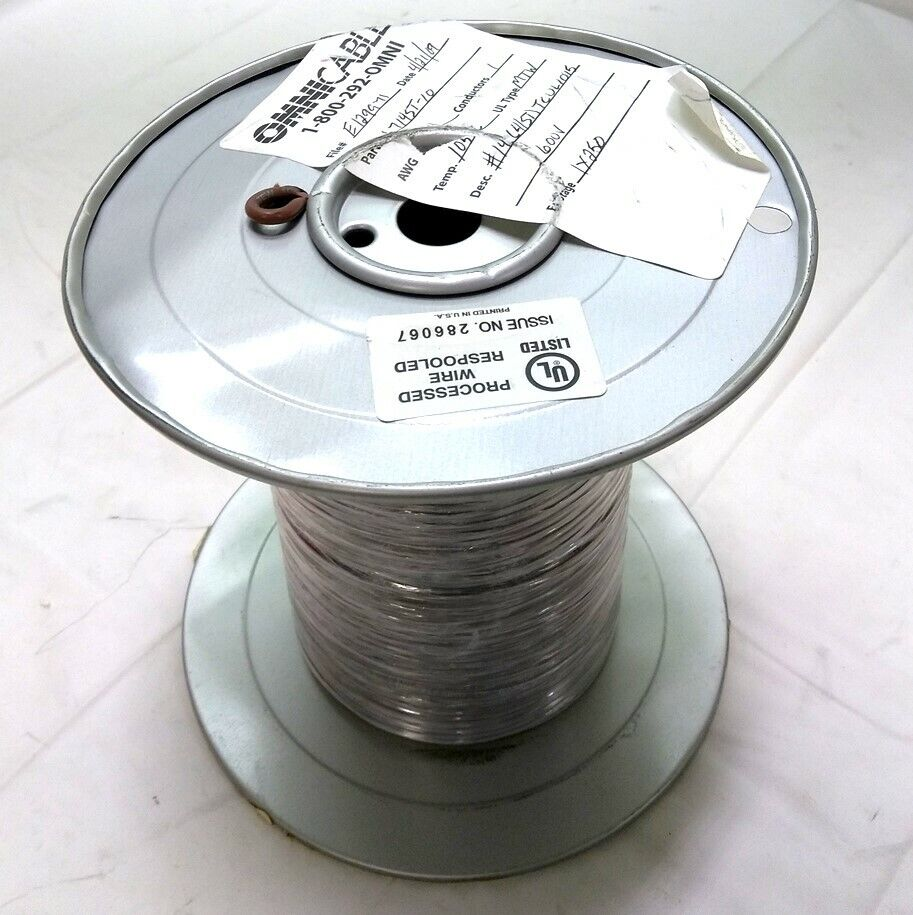 New Omni 714ST-10 MTW Electrical Wire, 41 Strand, 14 AWG, 600V ...
