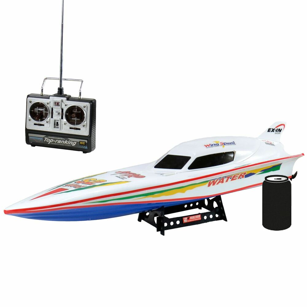 Remote Control Boats : Radio remote control rs stealth ep racing speed boat