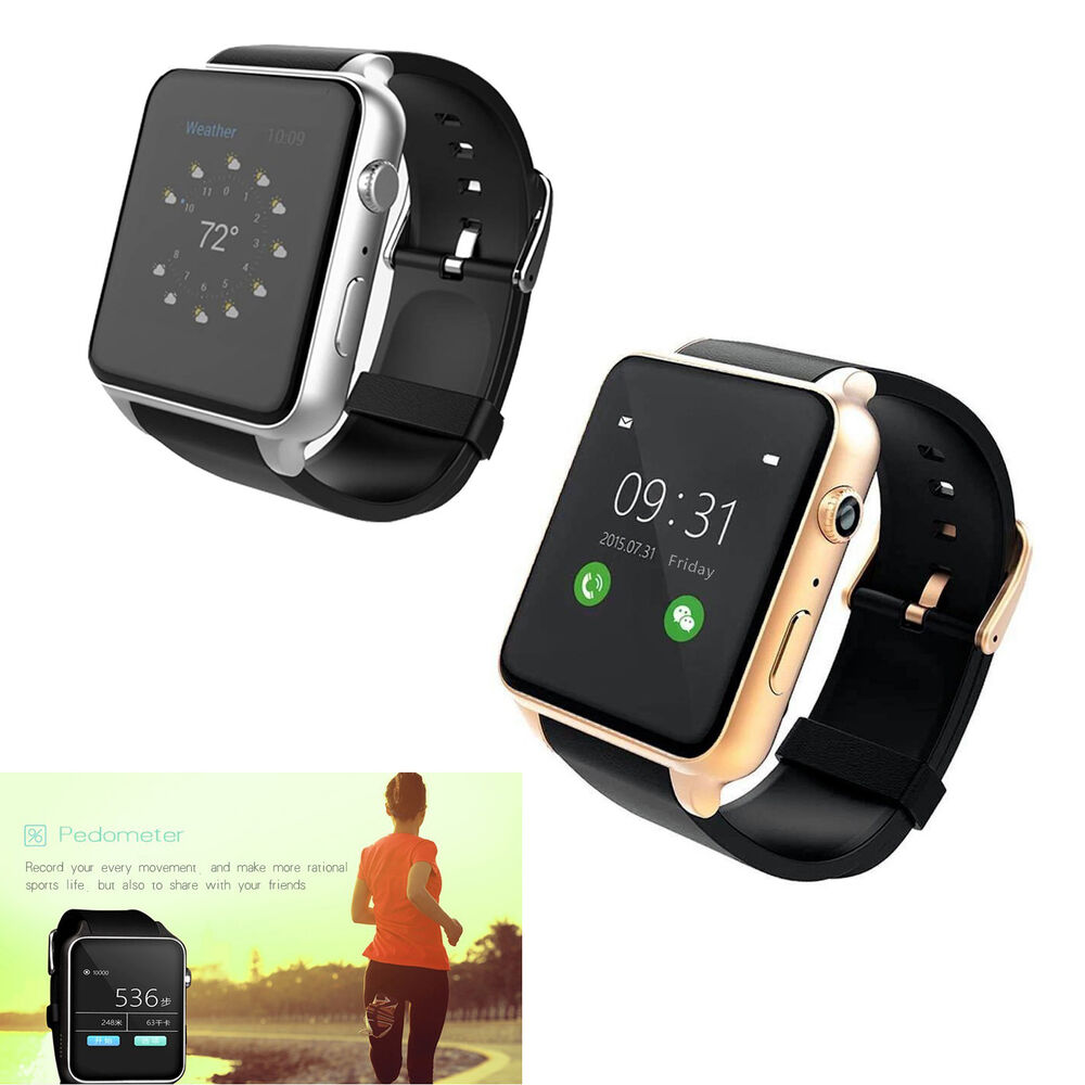 bluetooth smart watch phone for android iphone men women. Black Bedroom Furniture Sets. Home Design Ideas