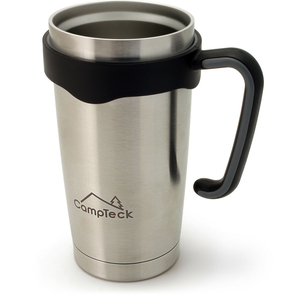 600ml gobelet isotherme inox double paroi mug tasse de voyage th caf ebay. Black Bedroom Furniture Sets. Home Design Ideas