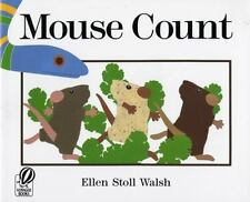 Mouse Count by Walsh, Ellen Stoll, Good Book