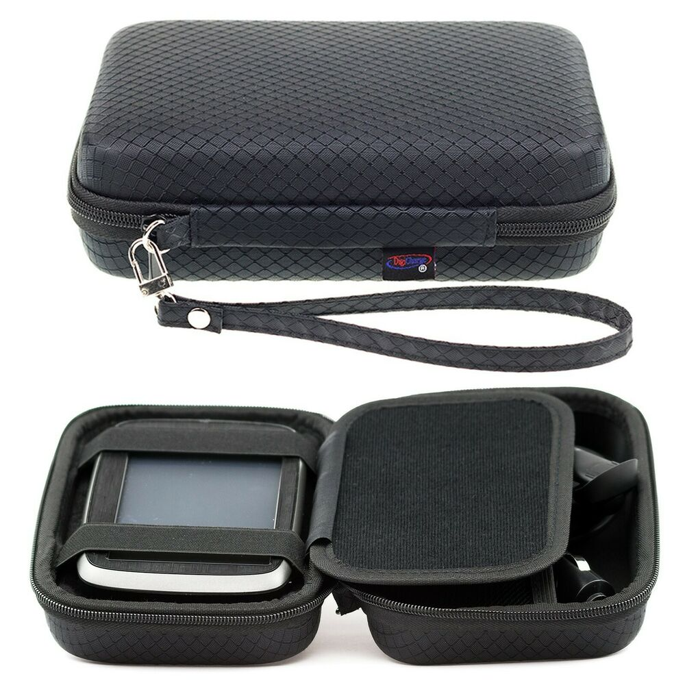 digicharge hard carry case for tomtom go 6200 620 6250 via. Black Bedroom Furniture Sets. Home Design Ideas