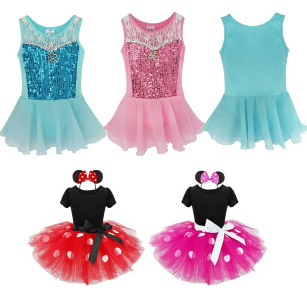 7379b9dd3 Kid Princess Dress Girl Ballet Dance Party Tutu Costume Ballerina ...