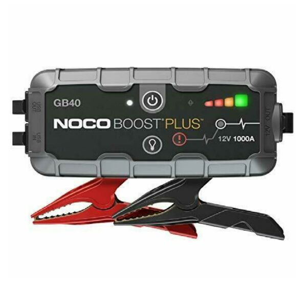NOCO GB40 Genius Boost HD 1000 Amp 12V Gas/Diesel UltraSafe Lithium Jump Starter
