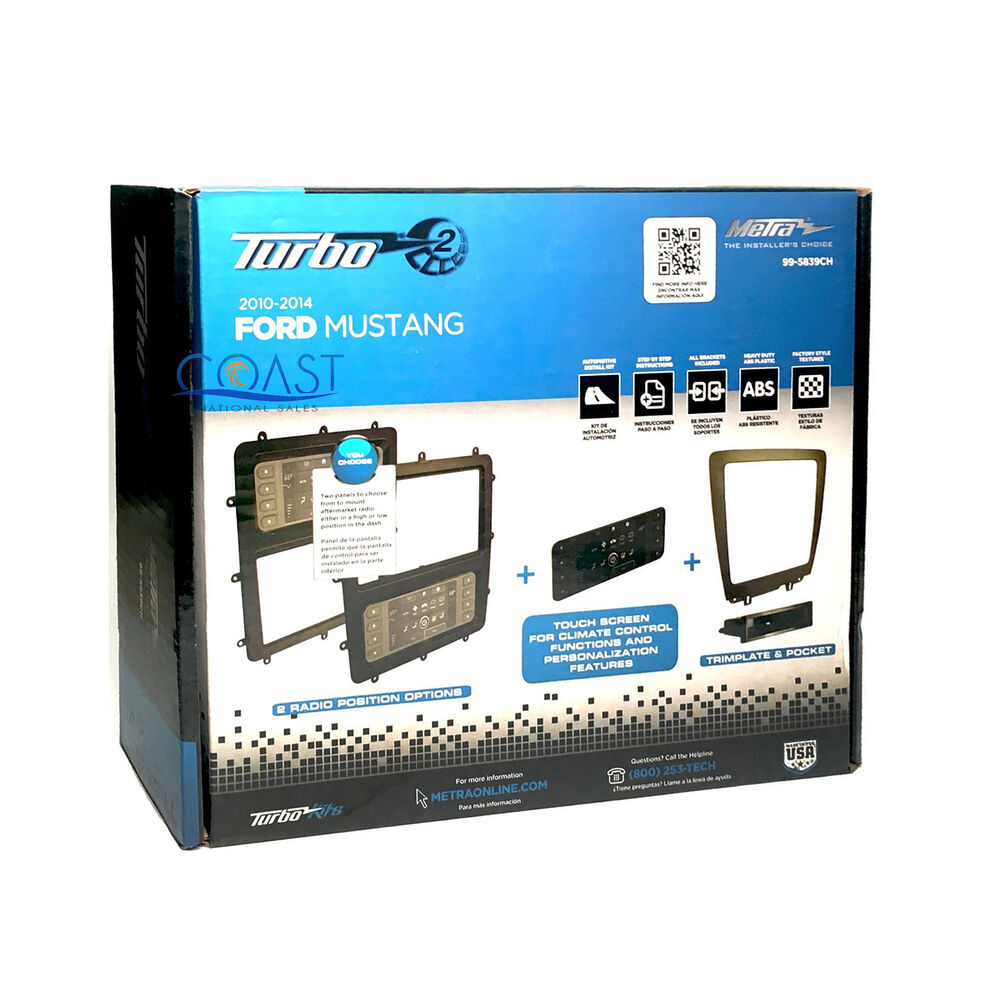 Metra Car Stereo Single 2 Din Touchscreen Dash Kit For