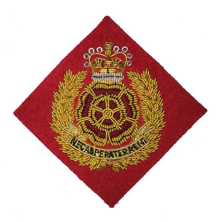 img-The Duke of Lancaster's Regiment Officers Cap / Beret Badge ( Wire Embroided