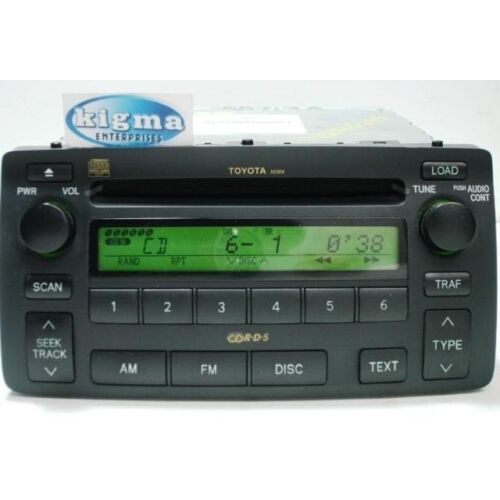 toyota-corolla-04-0508-6disc-cd-player-base-nonejbl-system-a51814-see-video