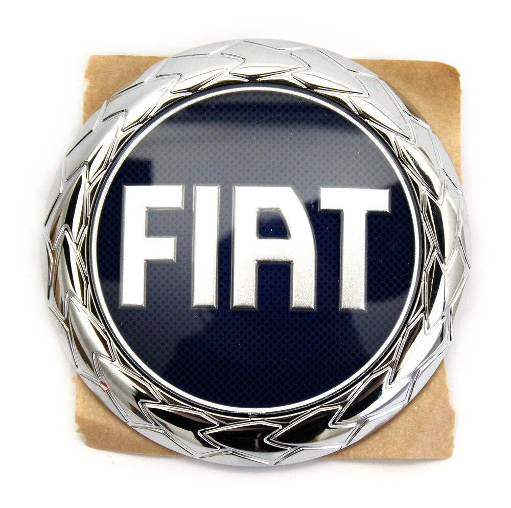 fiat emblem logo heckemblem heckklappe barchetta grande punto panda 735366069 ebay. Black Bedroom Furniture Sets. Home Design Ideas