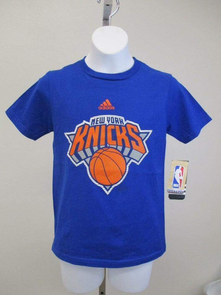 Details about New New York Knicks Youth Size S(8)-L(14 16) Blue Adidas Shirt  MSRP  20 3fc8d2bf8