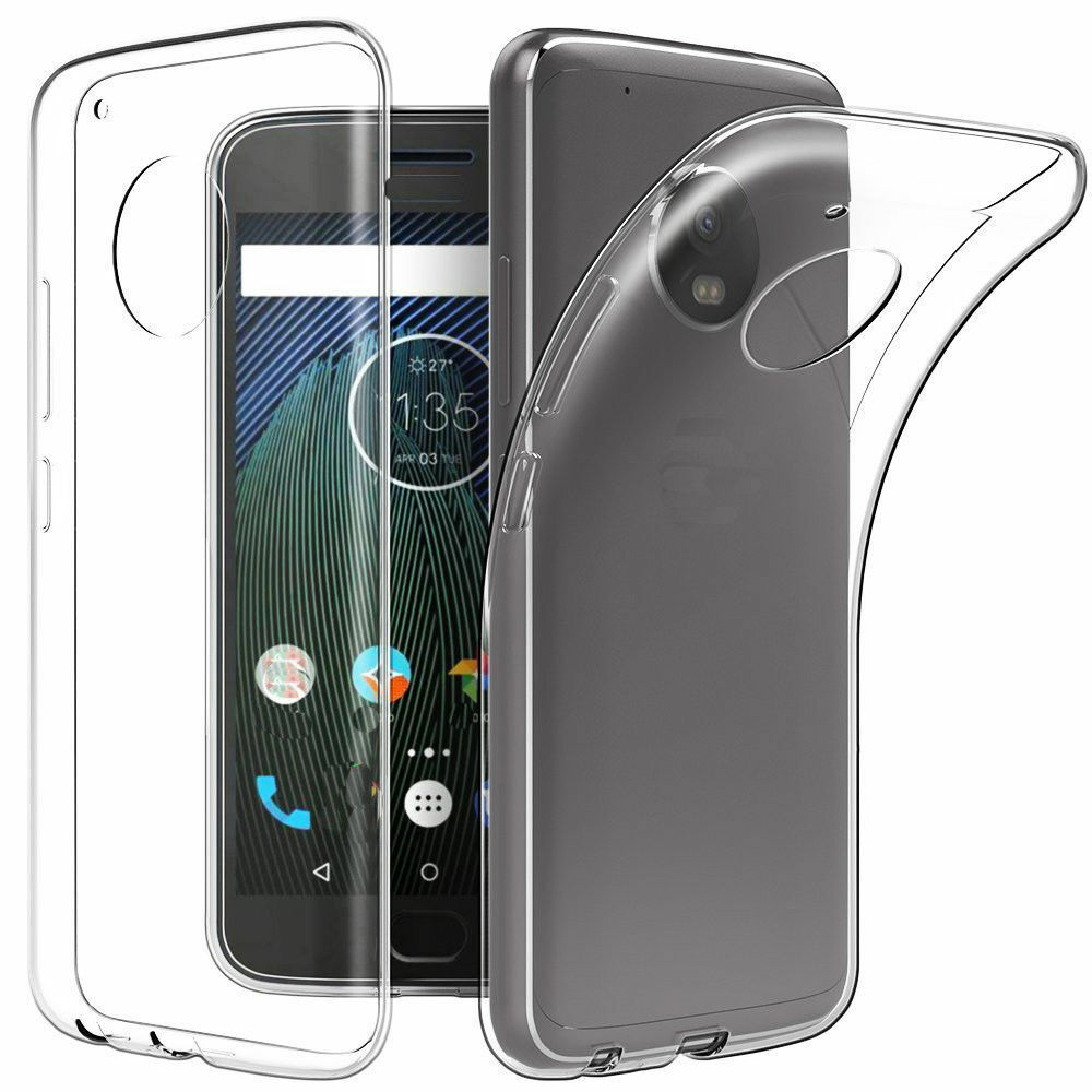 super popular e0f1f aa93f Soft TPU Clear Transparent Mobile Cell Case Back Cover For Motorola ...