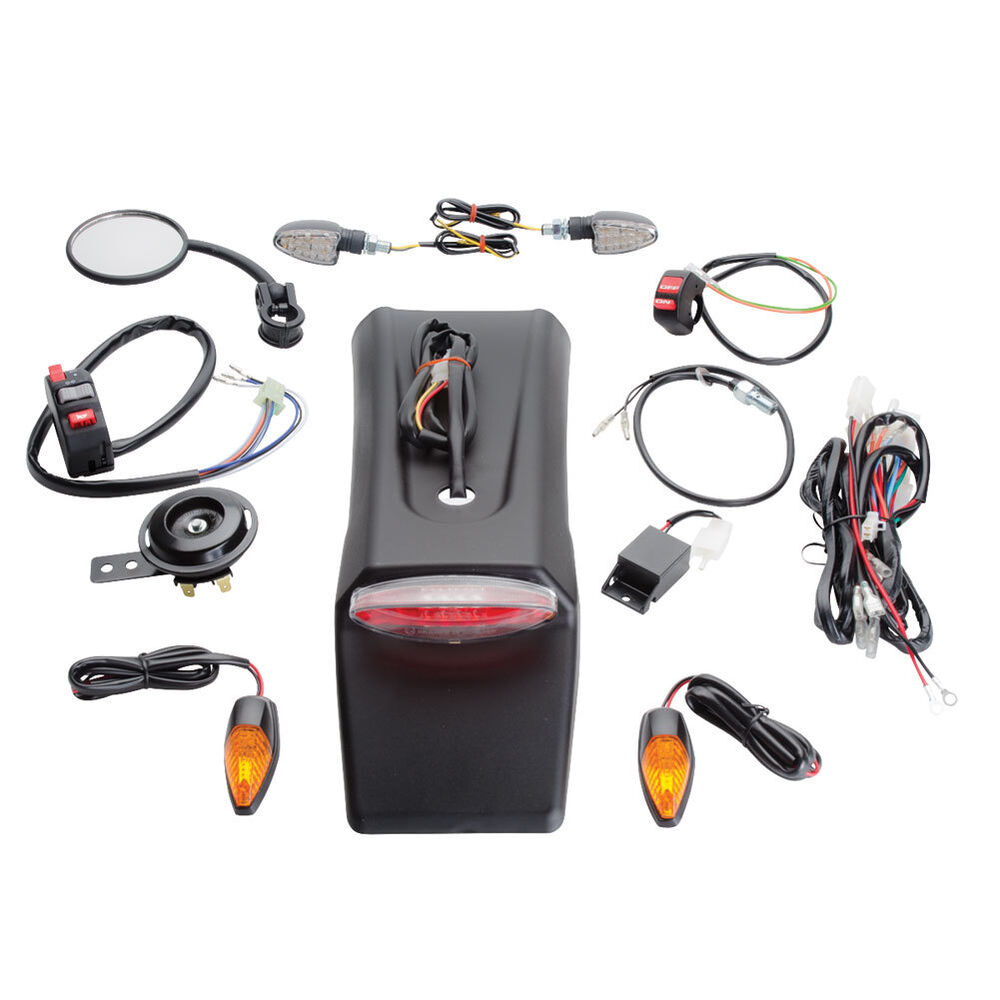 Tusk Enduro Dual Sport Lighting Kit Street Legal Wr250f Wr450f Wiring Diagram Yz450fx Rmx450 Ebay