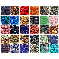 Kyпить Natural Gemstone Round Bead Loose Beads 4mm 100pcs 6mm 8mm 10mm 12mm Jewelry DIY на еВаy.соm