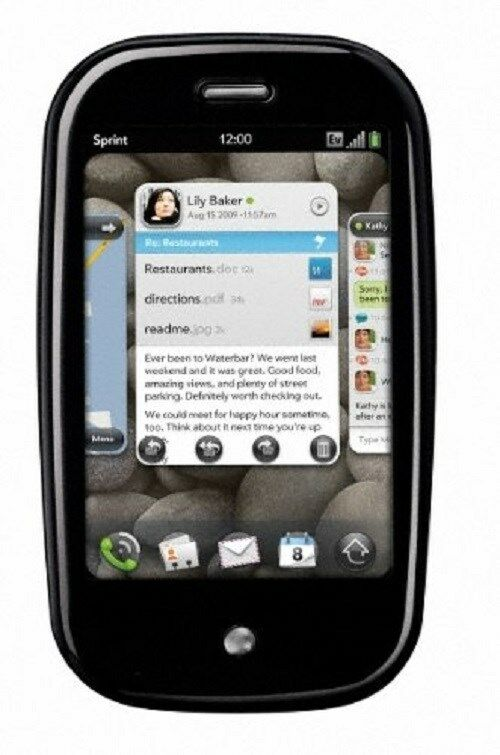 palm pre phone sprint no manual ebay rh befr ebay be Sprint Phone PC Sprint Pocket PC 6600