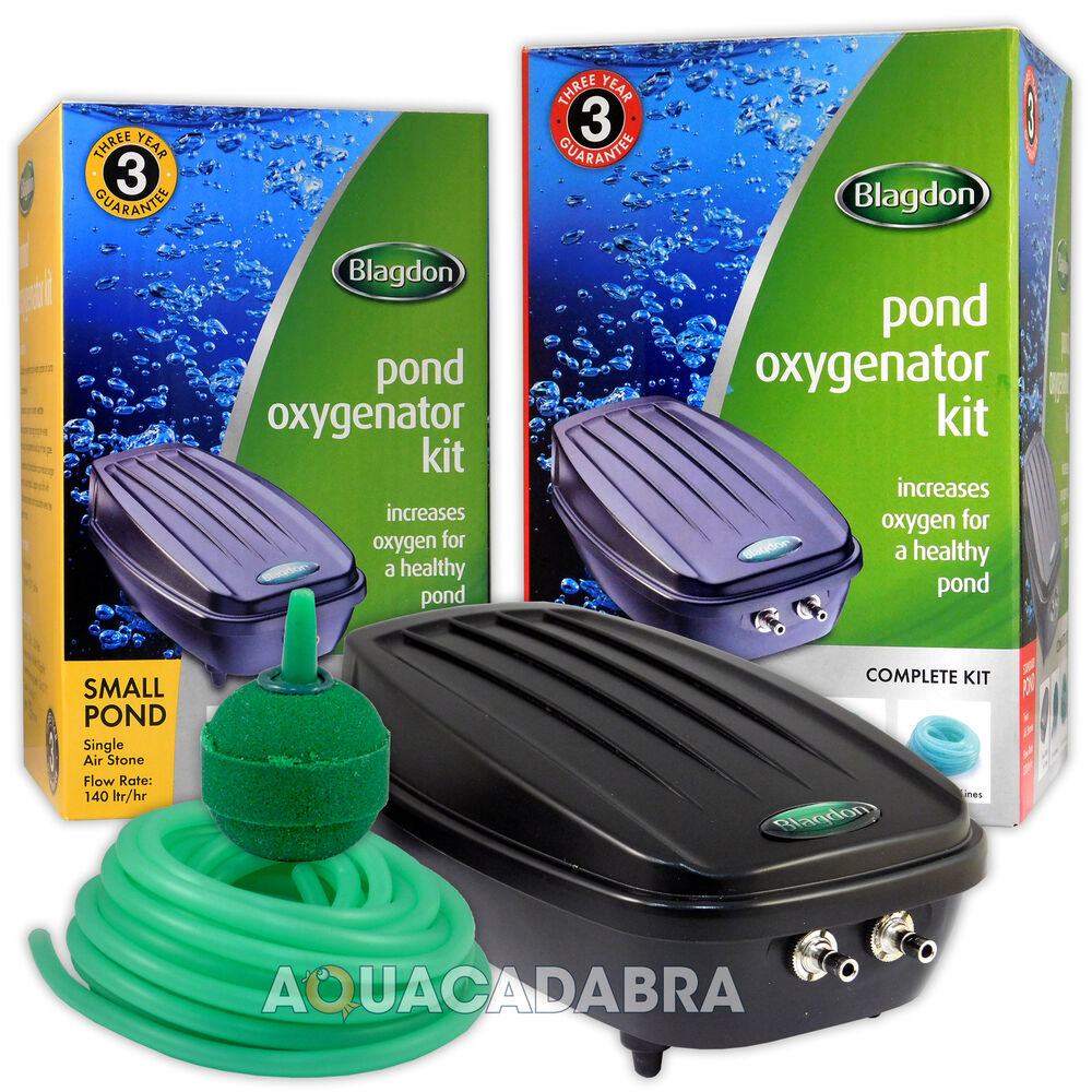 Koi Pond Air Stones : Blagdon pond oxygenator kit air pump line stones
