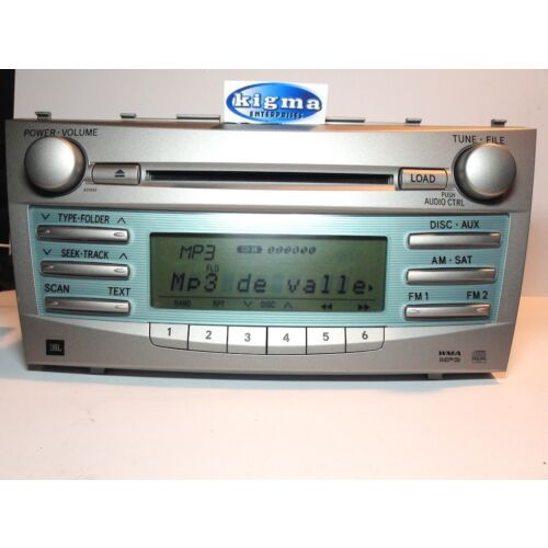 toyota-camry-0709-6disc-cd-mp3-wma-player-jbl-by-panasonic-sys-tested