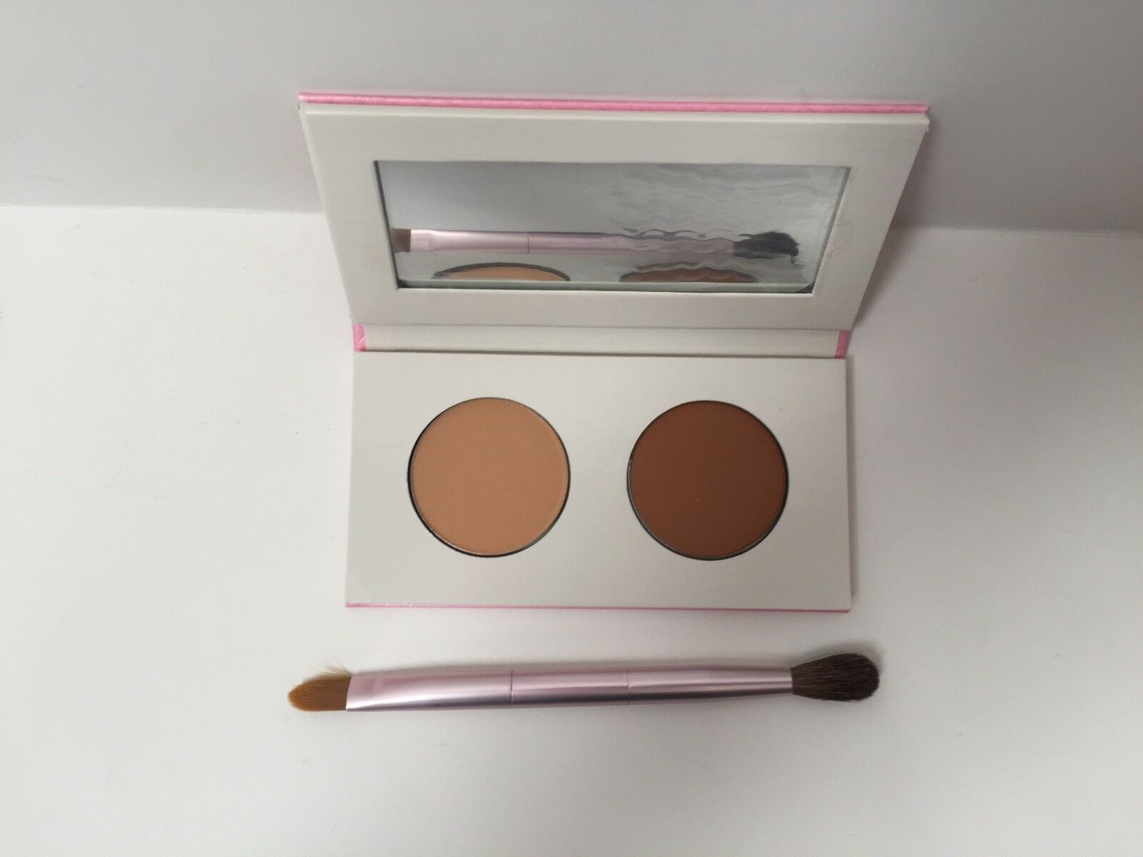 Mally Beauty Cancellation Concealer Mirrored Compact Duo Deep Setting Powder