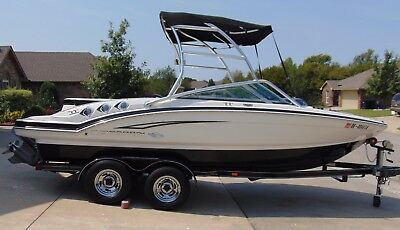 2010 CHAPARRAL 206 SSI WIDE TECH W/4.3LT GXI VOLVO PENTA ENGINE 225HP
