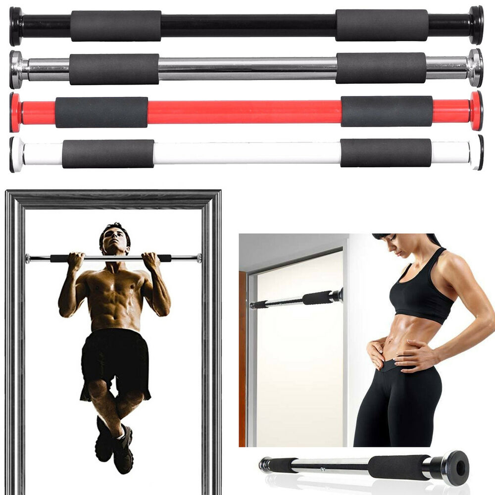 Chin Up Bar Crivit: Pro Doorway Pull-up / Chin-Up Bar Upper Body Abs Gym