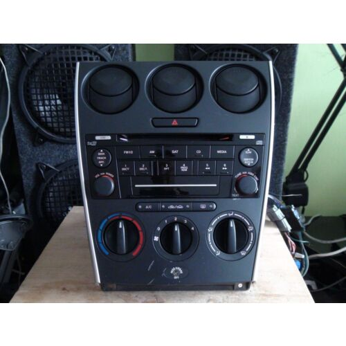 mazda-6-20062008-6disc-cd-player-wbezelmanual-climate-tested-gr6e66dsx