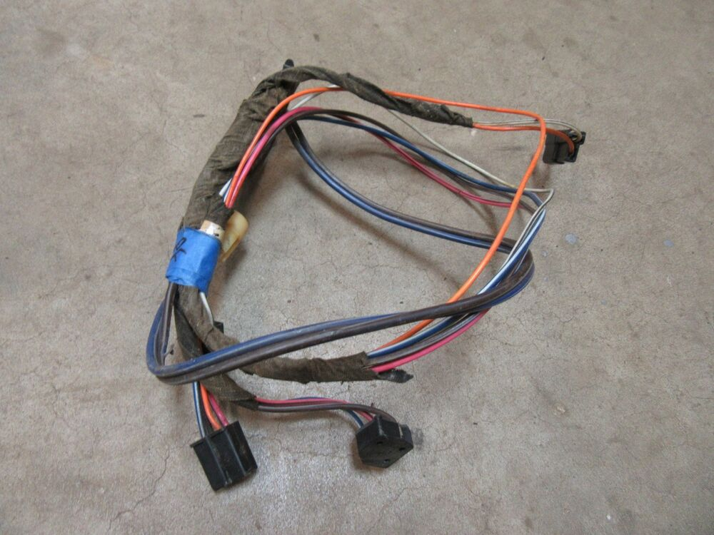 details about 1968 cadillac sedan deville 4 door hardtop power window wire  harness wiring pf