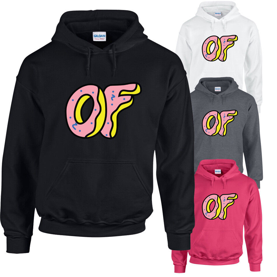 e0f13adec274 Details about ODD FUTURE DOUGHNUT Hoodie Hoody Top OFWGKTA Tyler The  Creator Wolf Gang Earl OF
