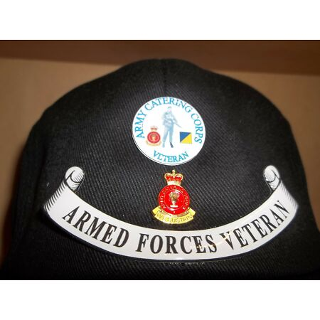 img-Army Catering Corps Veteran cap free postage.